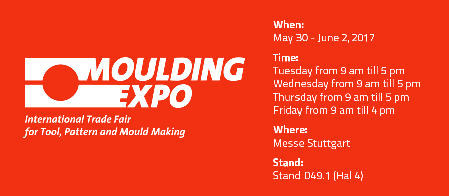 Uitslag BV: exhibitor at Moulding Expo 2017